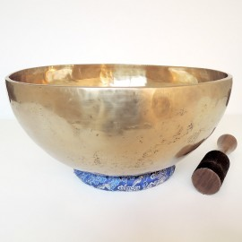 Cuenco tibetano 7 metales extra grande XL