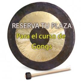 Reserva taller gongs Málaga
