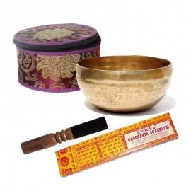 Pack regalo cuenco tibetano mini