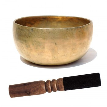 Cuenco Tibetano Antiguo Thado XXL