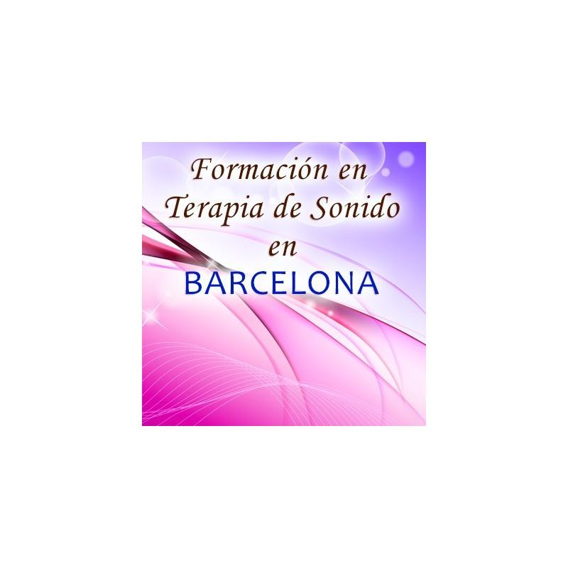 Reserva formación terapia de sonido Barcelona