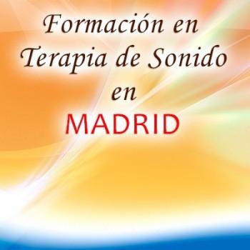 Reserva formación terapia de sonido Madrid